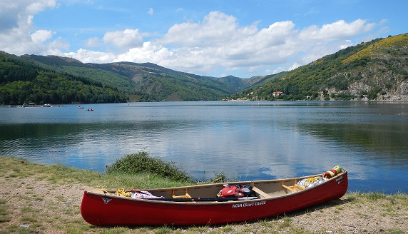 foto ardèche canoe
